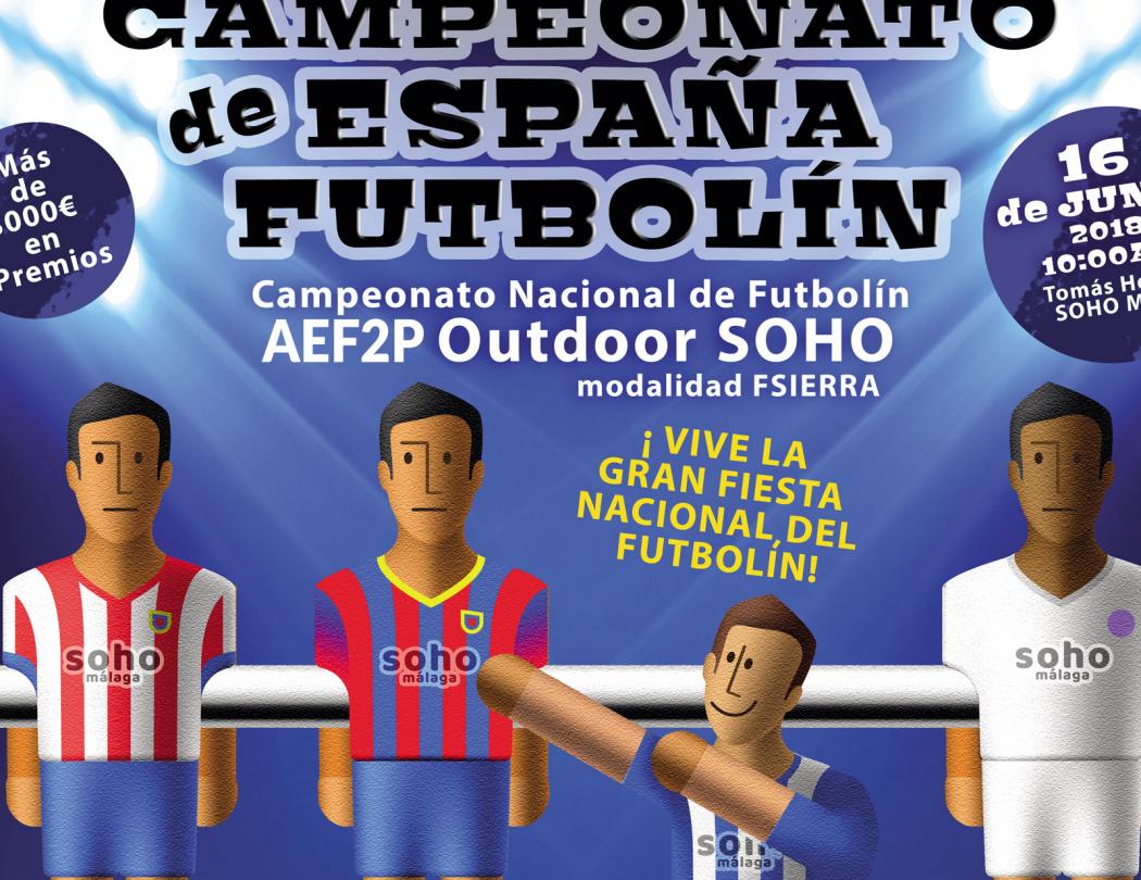 1 Campeonato de España Futbolin AEF2P Outdoor Soho