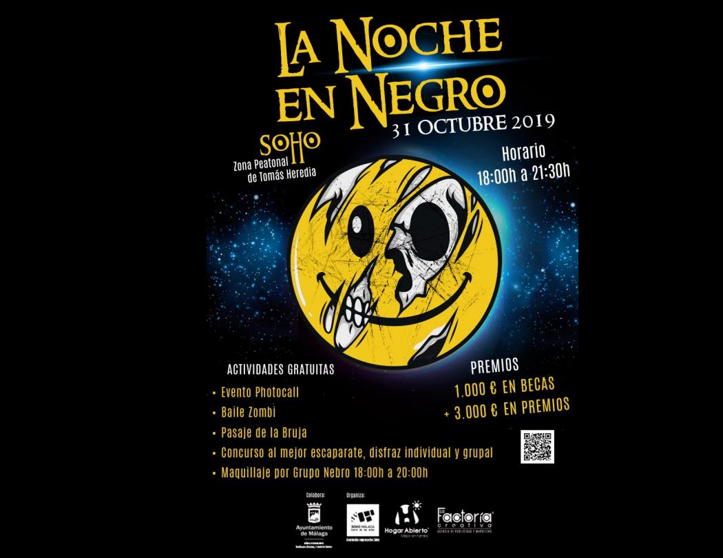 Noche en negro SOHO 2019 - Concurso de disfraces!