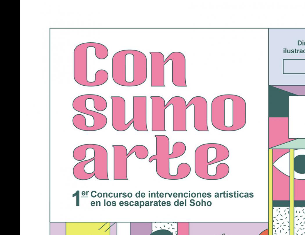 CON SUMO ARTE - Concurso de intervenciones artísticas en los escaparates del Soho