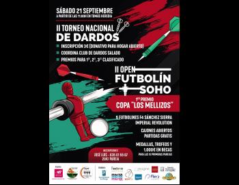 II OPEN FUTBOLIN SOHO - II TORNEO NACIONAL DE DARDOS